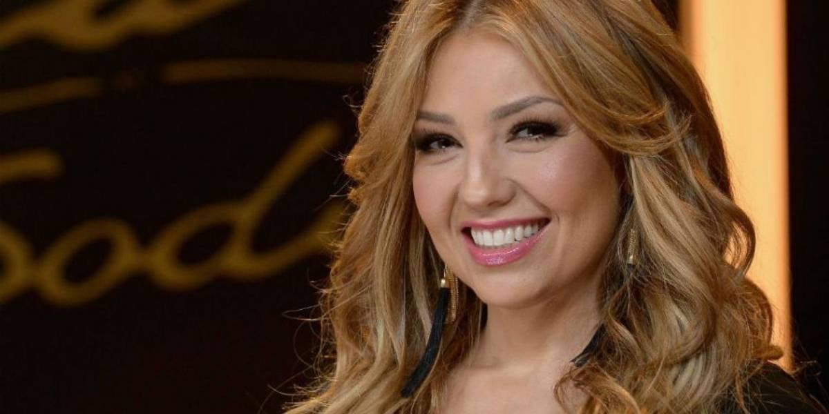 Thalía comparte el momento en que sufre una grave quemadura en el brazo