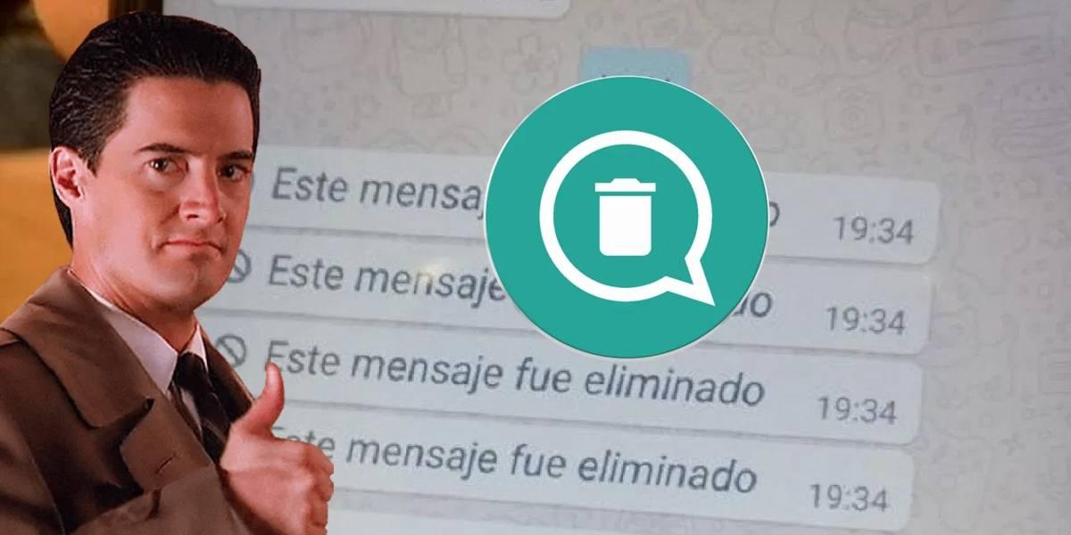 WhatsApp: así puedes leer los mensajes borrados por tus contactos