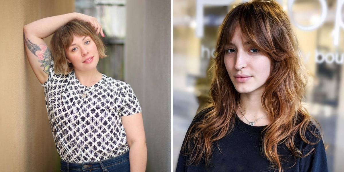 Franja cortina: a nova tendência para os cabelos