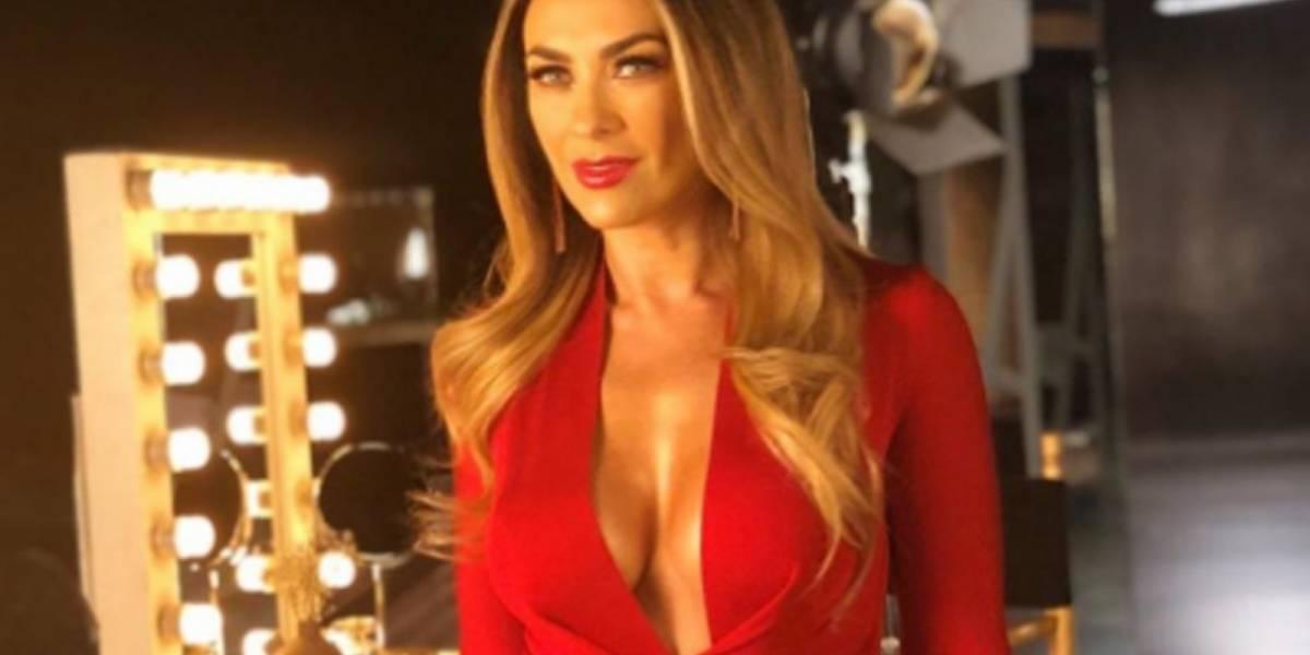 Aracely Arámbula aseguró que su historia de amor no aparecerá en la serie de Luis Miguel y dijo que habrá una tercera temporada
