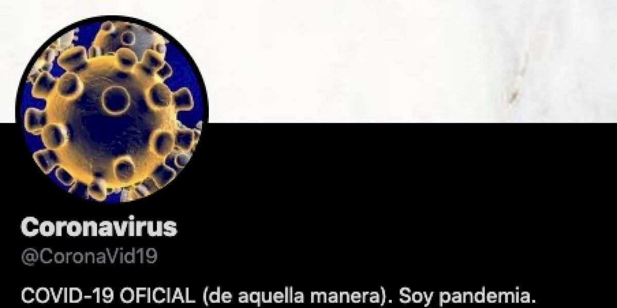 """""""¿Alguien quiere que lo siga?"""" La cuenta del coronavirus que arrasa en Twitter enfrentando con humor negro el problema que afecta a todo el mundo"""