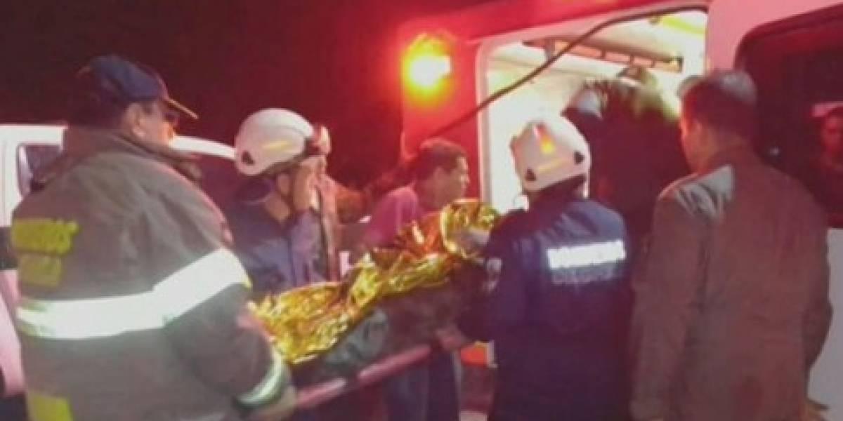 Nueve soldados heridos por caída de rayo en plena tormenta
