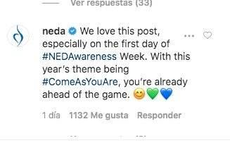 Comentario Demi Lovato