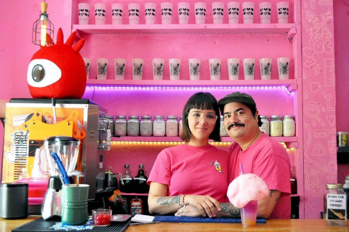 La pareja logró abrir un foodtruck temporero en el Food Truck Park de Aguadilla y luego en Miramar, para ahora plantar bandera en el Viejo San Juan. Deborah Correa