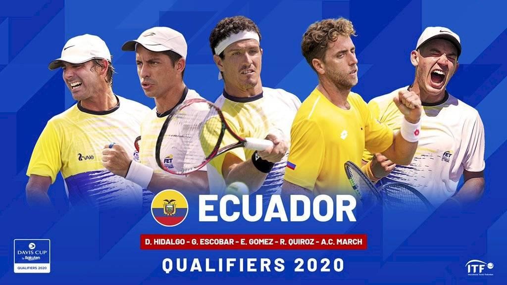 Japón vs Ecuador por la Copa Davis se jugará sin público por coronavirus internet