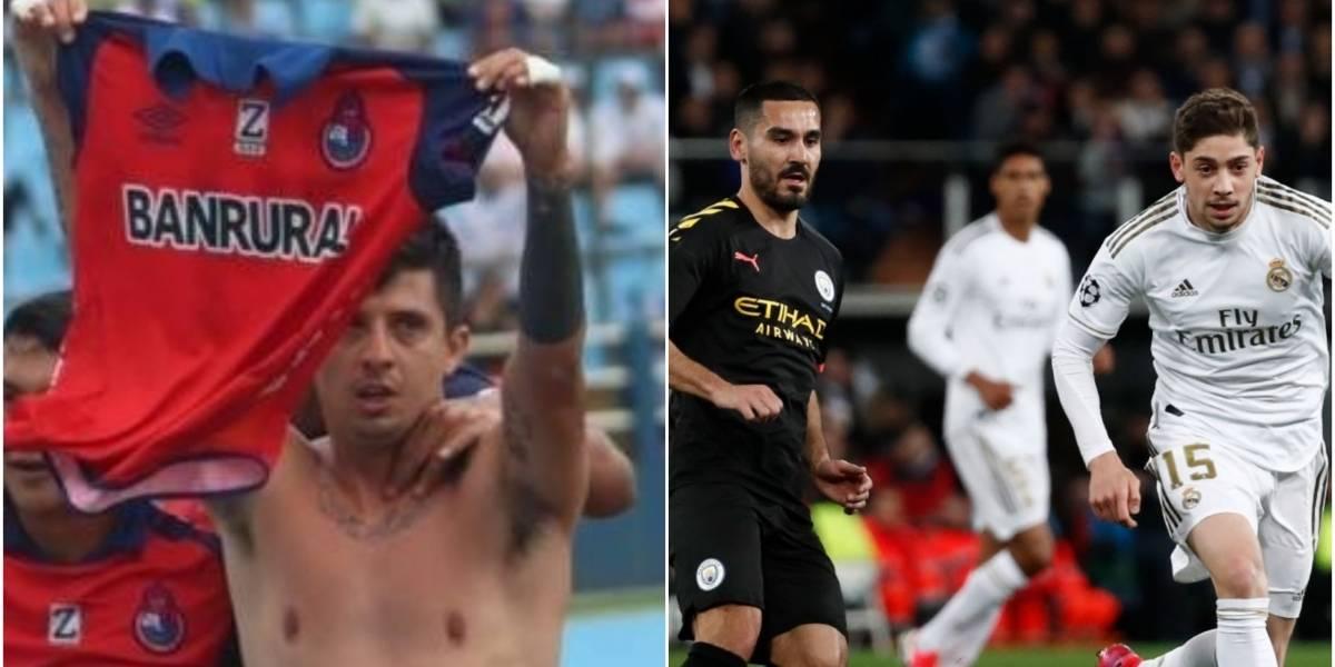 """La """"GambeSeñal"""" llega al estadio Santiago Bernabéu en una noche de Champions League"""