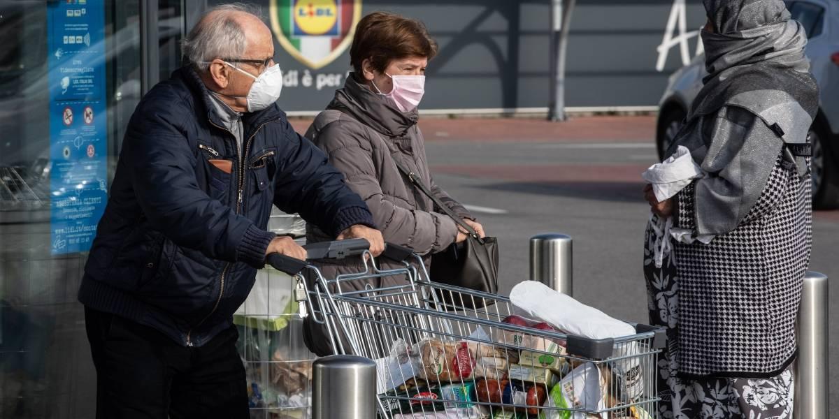Itália impõe distância mínima entre pessoas em 3 regiões por conta do coronavírus
