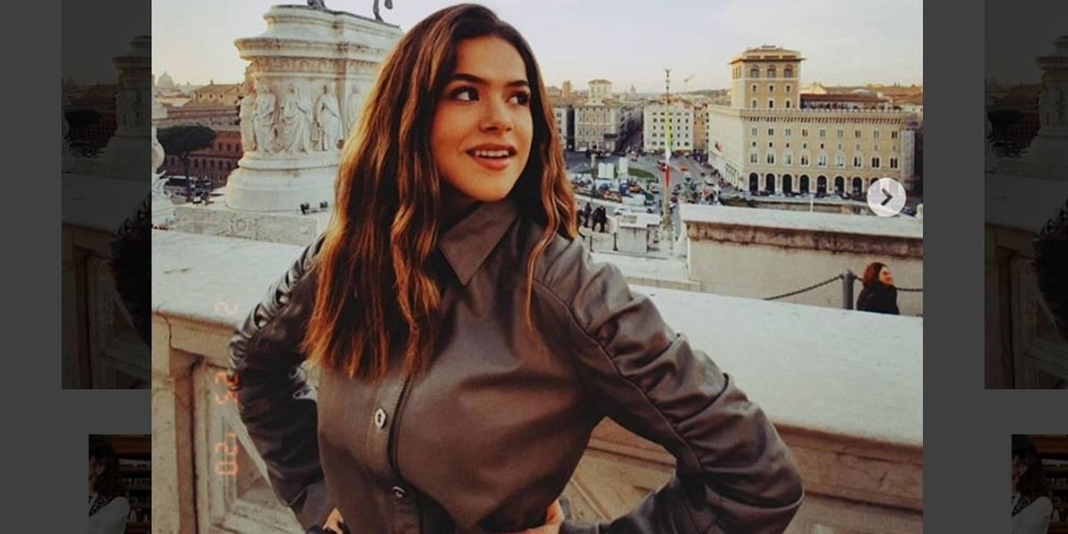 Em viagem à Itália, Maisa Silva desmente boato sobre coronavírus