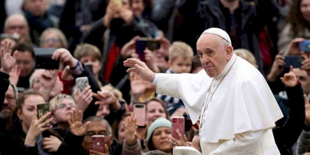 El papa Francisco, resfriado en plena psicosis por el coronavirus