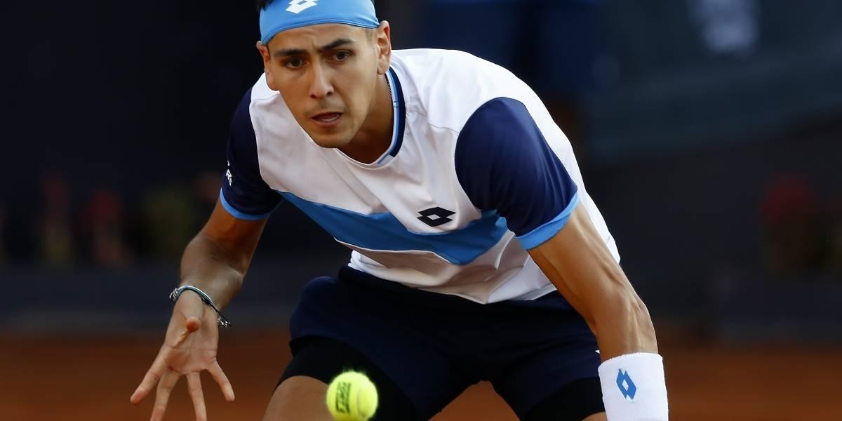 Tabilo no pudo dar batacazo ante 38 del mundo y dijo adiós al ATP de Santiago