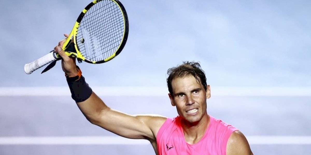 """Rafael Nadal: """"El final está cada vez más cerca, pero sigo disfrutando"""""""