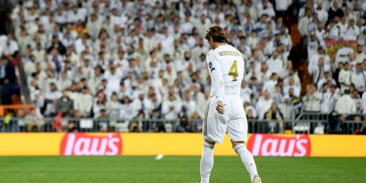 Sergio Ramos es el jugador más expulsado en Champions League