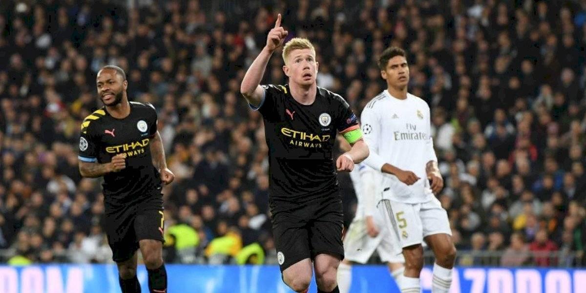 El Manchester City vapulea al Real Madrid en Champions