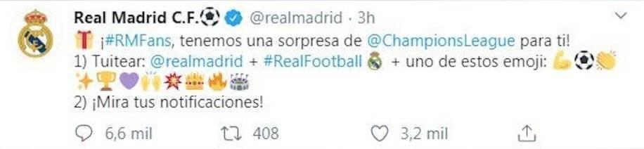 El Real Madrid provoca confusión con un error del Coronavirus