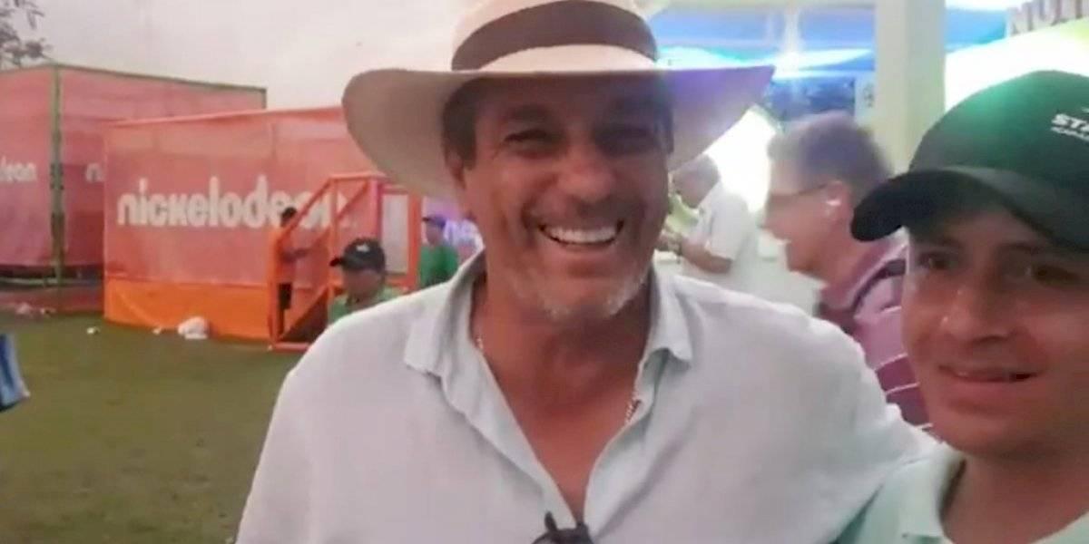 Tomás Boy fue al Abierto de Acapulco ¡a apoyar a Federer!
