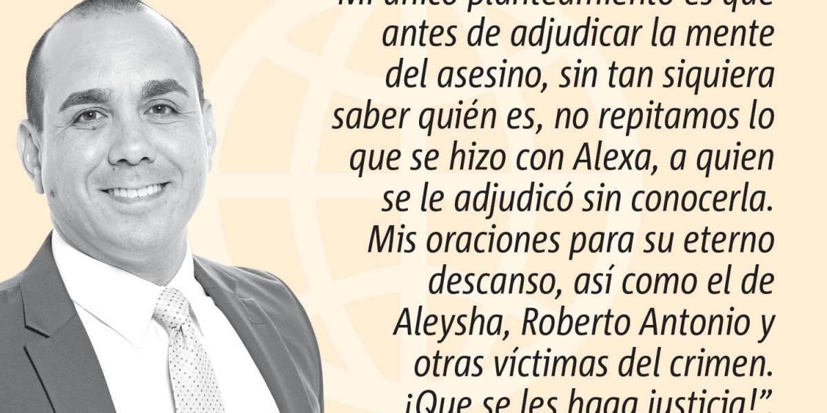 """Opinión de Alex Delgado: """"Hipocresía en el caso Alexa"""""""