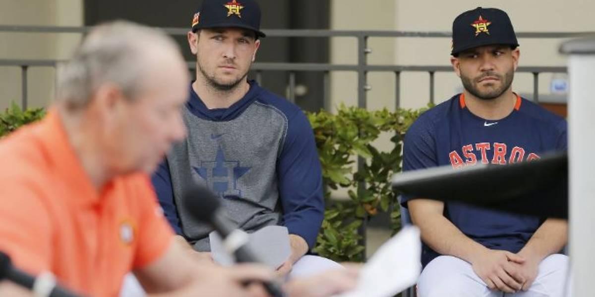 Castigo por el robo de señas: Astros ya suman siete pelotazos