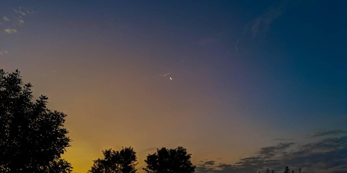 La Luna y Venus estarán muy juntos en un evento astronómico imperdible