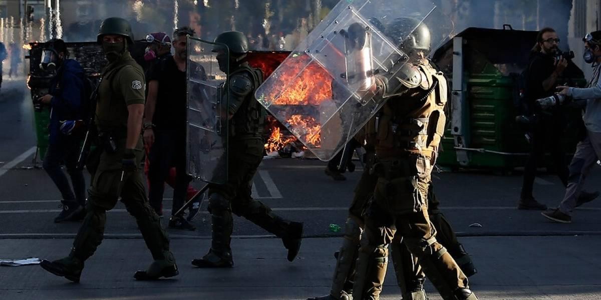 Dictan arraigo nacional contra carabinero acusado de golpear a detenido en Antofagasta