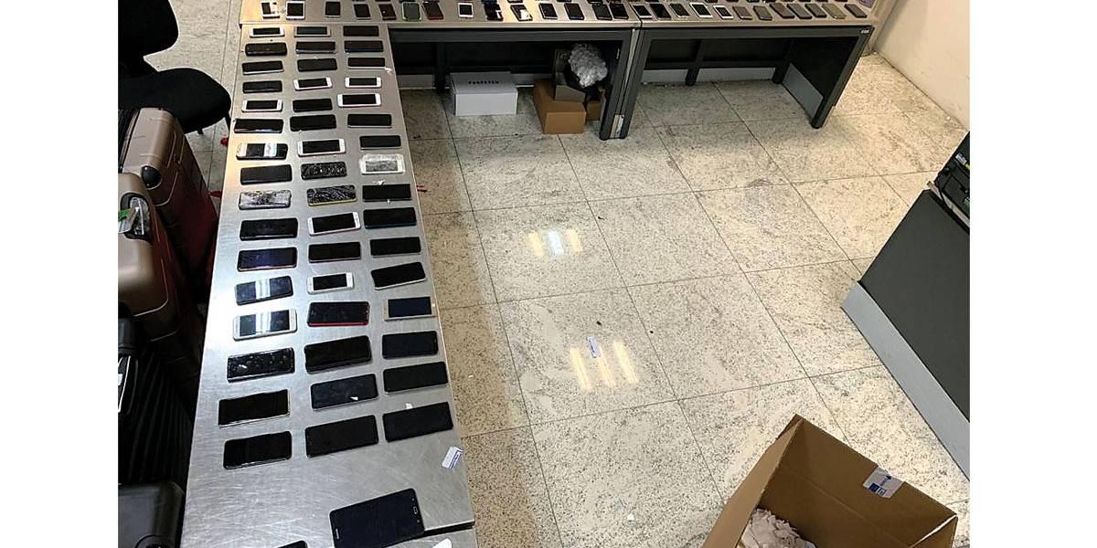Operação recupera 450 celulares roubados em São Paulo