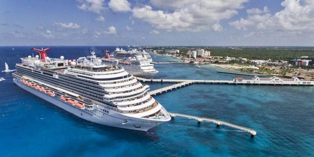Realizan protocolo sanitario a crucero en Cozumel por coronavirus