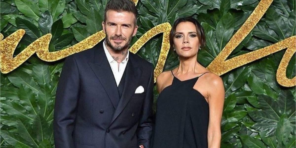 David Beckham confesó que aún conserva el papel donde Victoria le dio su número telefónico