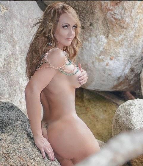 Gabriela Spanic posó desnuda