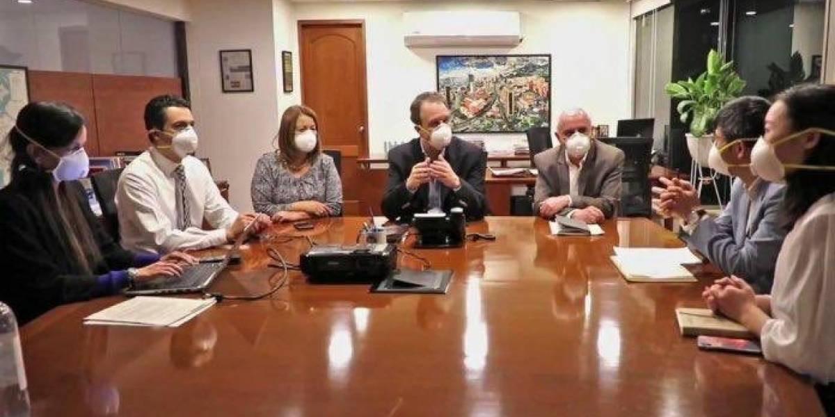 Empresa Metro se pronunció sobre uso de tapabocas en reunión con consorcio chino