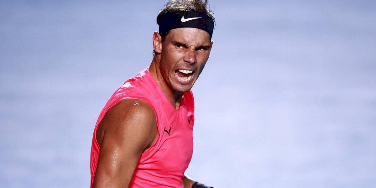 Rafael Nadal avanza a cuartos de final del Abierto de Acapulco