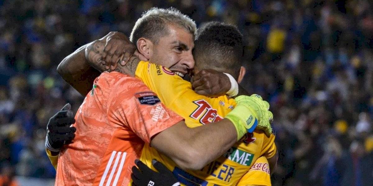 Vargas asiste y el arquero marca en el último suspiro: La milagrosa clasificación de Tigres en la Concachampions