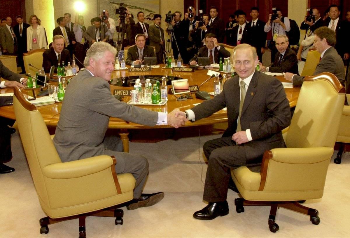 Vladimir Putin en el año 2000