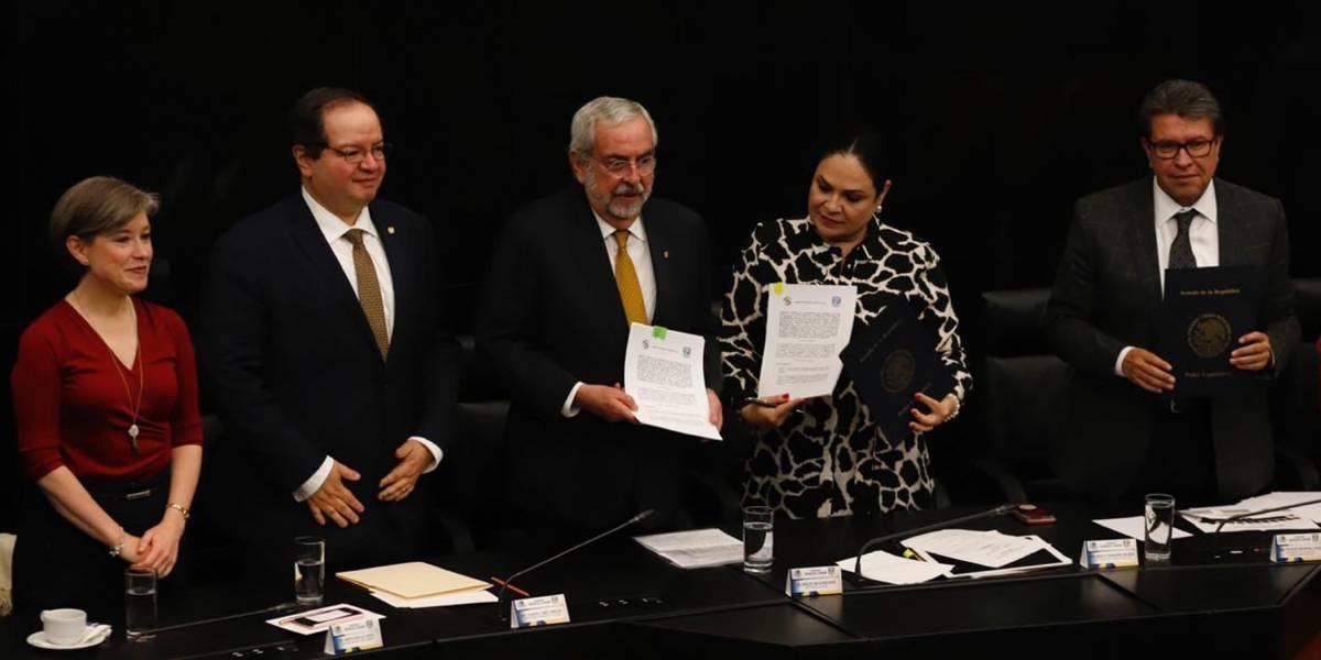 Rector de la UNAM reprueba actos violentos contra la institución