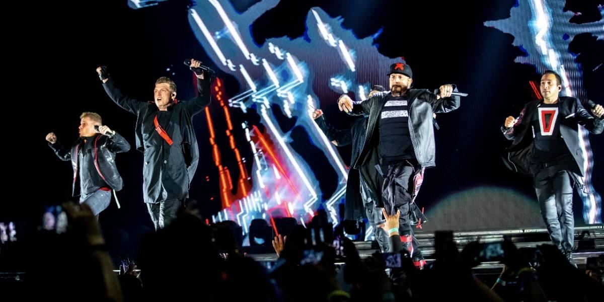 Backstreet Boys enloqueció vialidades y a los tapatíos