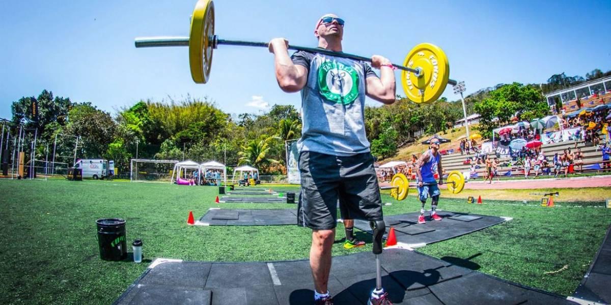 Atleta paralímpico de Goiás treina para escalar o Everest
