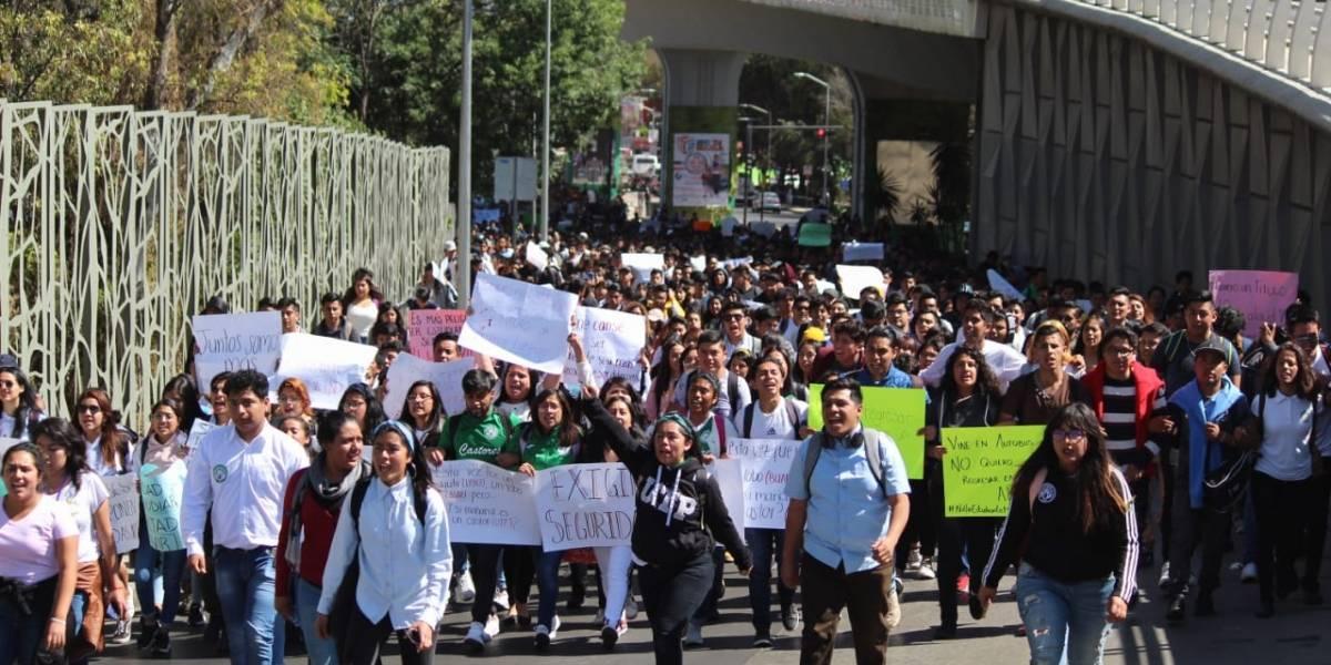 Universidades poblanas se suman a manifestaciones y piden seguridad para todos