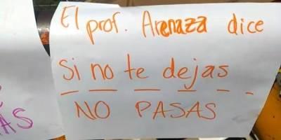 Alumnas de Colegio de Bachilleres en Oaxaca denuncian acoso de maestros y compañeros
