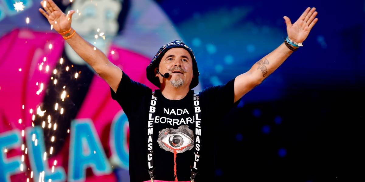 """""""Nada borrará la sangre derramada"""": las frases que marcaron la rutina de Paul Vásquez en Viña y le dieron el segundo peak más alto entre humoristas"""