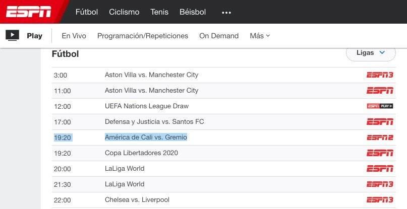 Copa Libertadores 2020 pasará de Fox Sports a ESPN