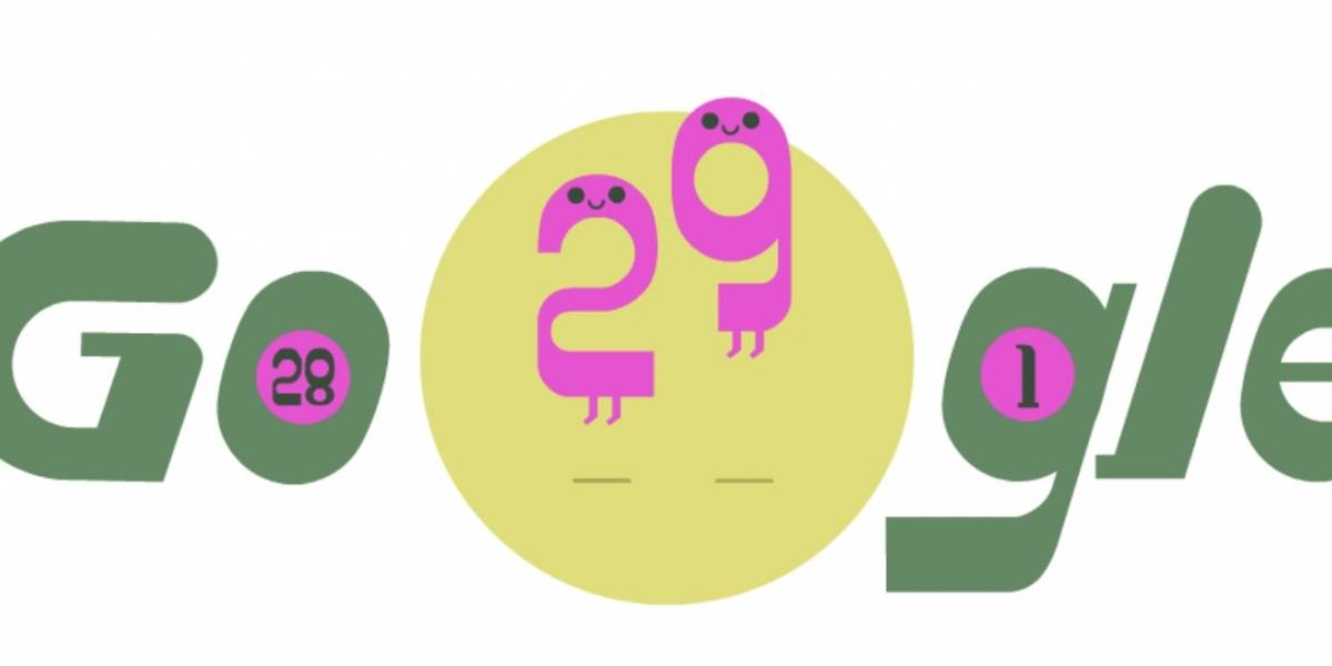 Para comemorar ano bissexto, Google contará com doodle especial neste sábado (29)