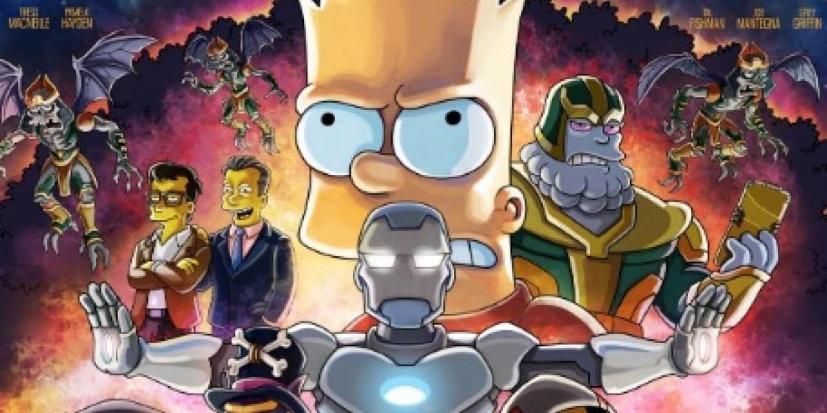 Los Simpson emitirán un episodio especial con los actores de Avengers: Endgame