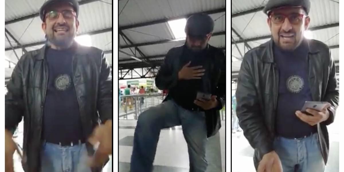 """""""Desde la cama me les metí en la aplicación"""": Freddy Contreras luego de ser rechazado en Beat"""
