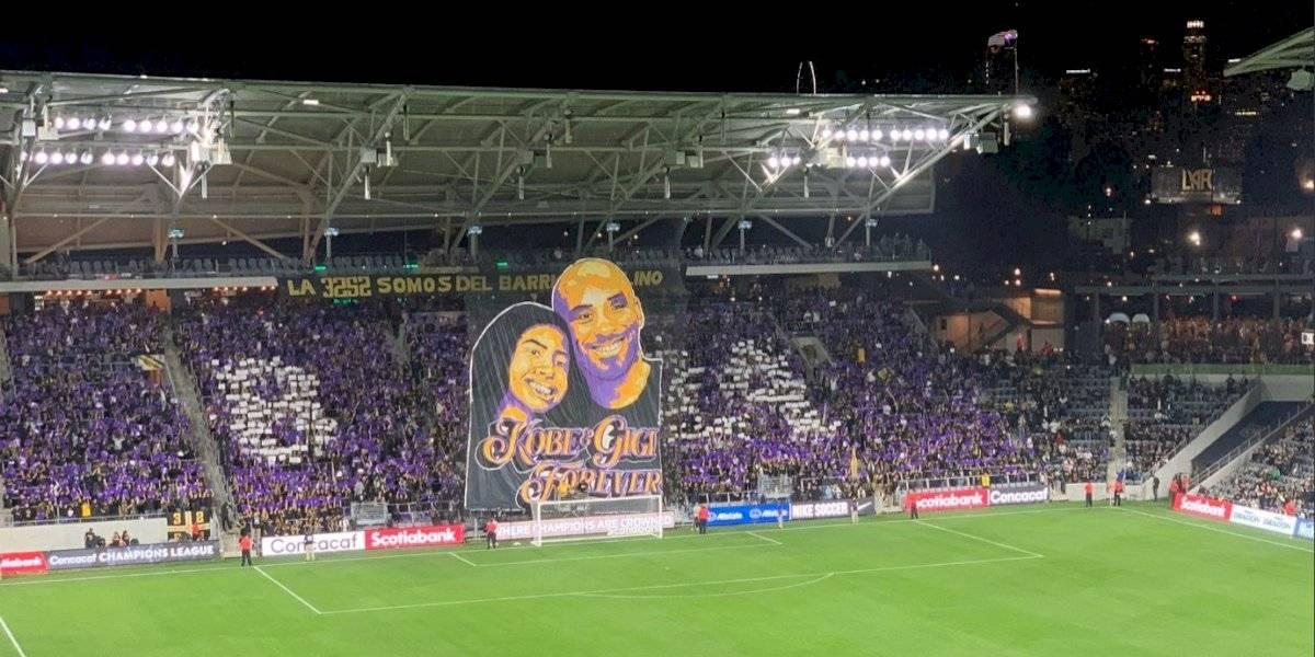 LAFC rinde homenaje a Kobe Bryant previo a su juego ante León