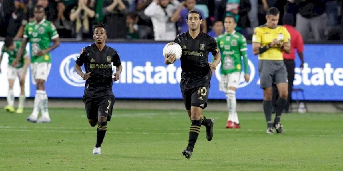 Carlos Vela conduce remontada del LAFC sobre León