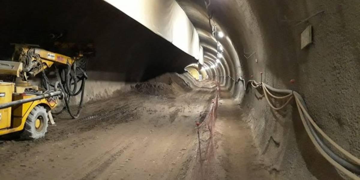 Extensión de Línea 3 del Metro en Quilicura presenta 25% de avance
