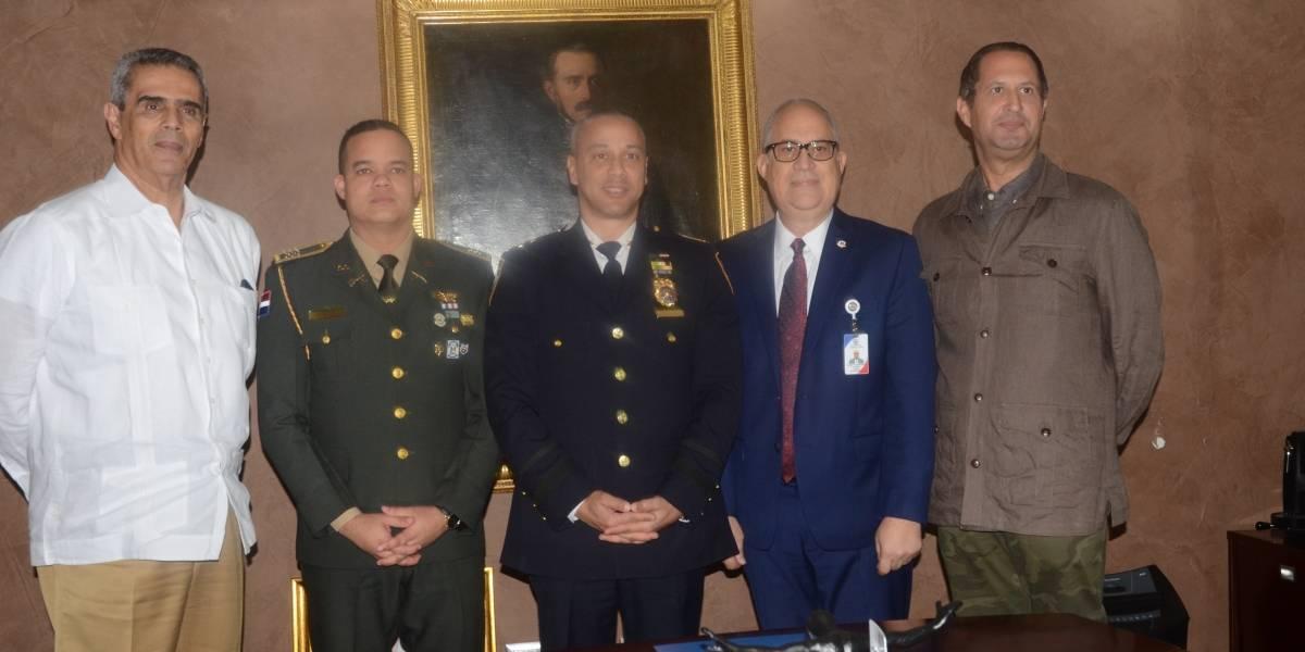 MIP y PN reciben delegación Policía de Nueva York