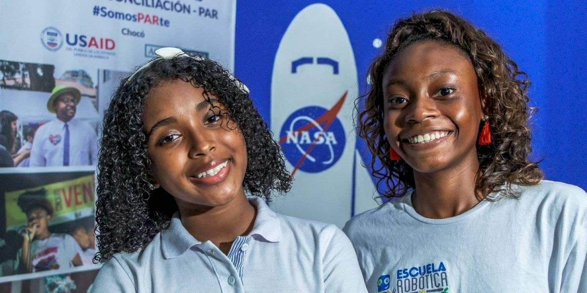 Niñas de Quibdó viajarán a la NASA por su talento en robótica