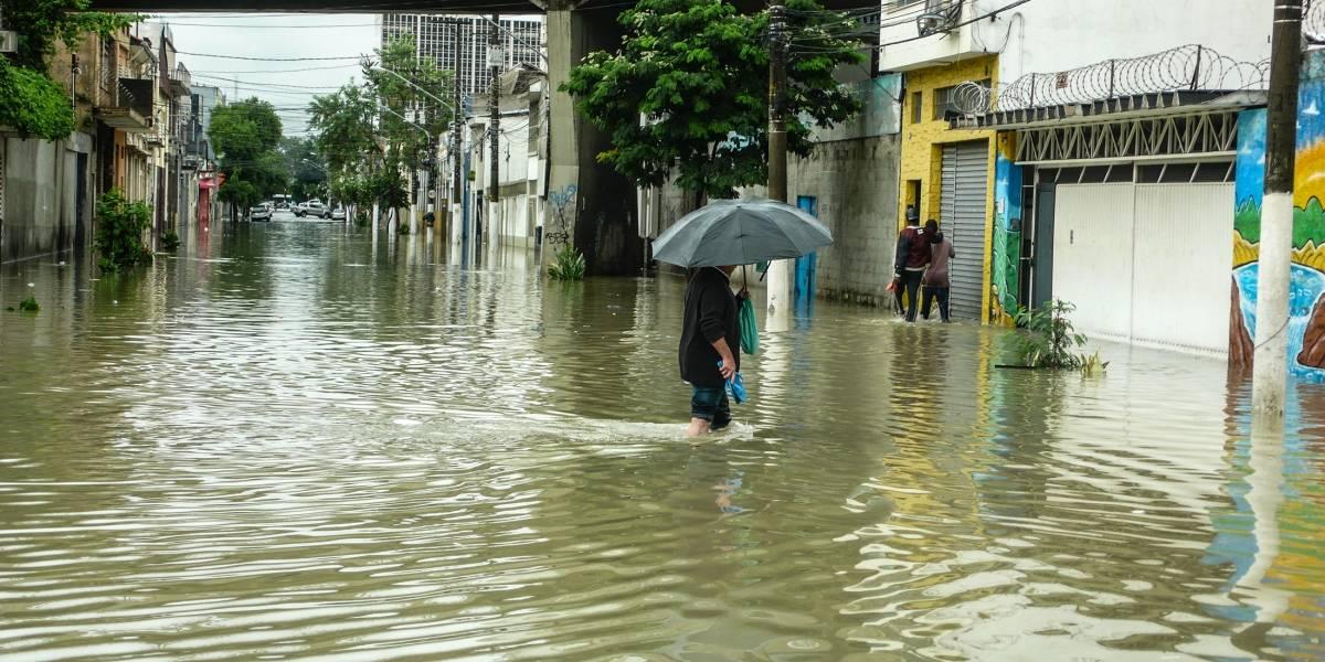 Fevereiro foi o mês mais chuvoso na capital paulista em 77 anos