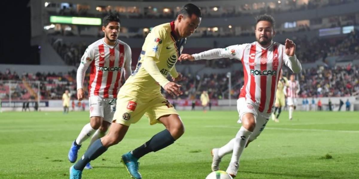 Liga MX: Los últimos resultados de América vs Necaxa