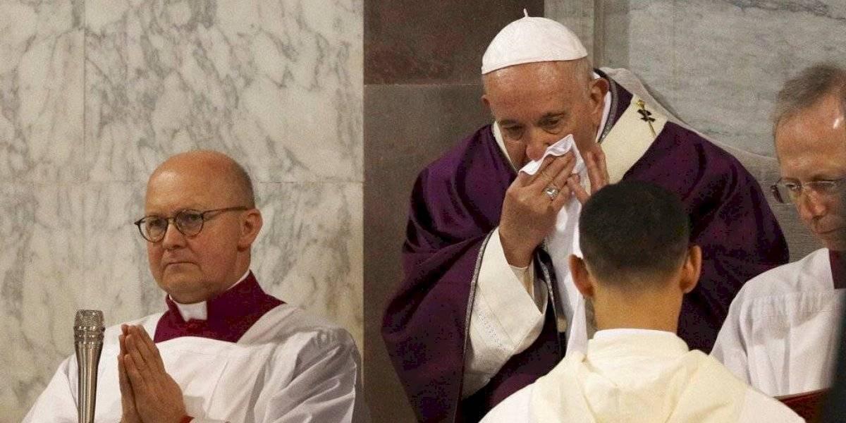 Por un aparente resfriado: Papa Francisco cancela por tercer día consecutivo todas sus actividades en el Vaticano