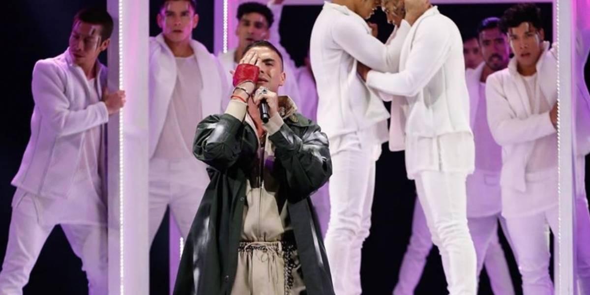 La emotiva foto de Johann Vera tras llevarse Gaviota de Plata en Viña del Mar 2020